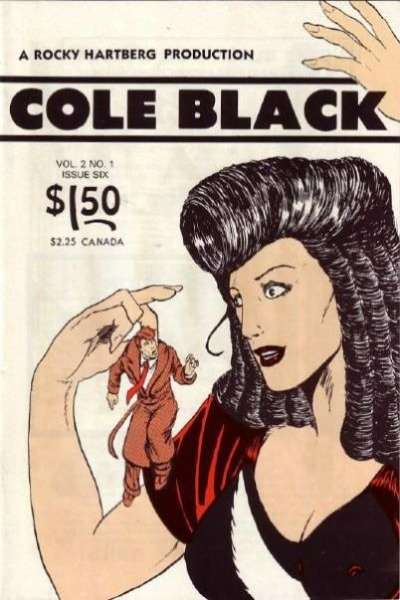 Cole Black comic books
