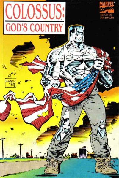 Colossus: God's Country #1 comic books - cover scans photos Colossus: God's Country #1 comic books - covers, picture gallery