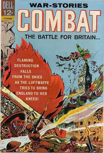 Combat #17 Comic Books - Covers, Scans, Photos  in Combat Comic Books - Covers, Scans, Gallery
