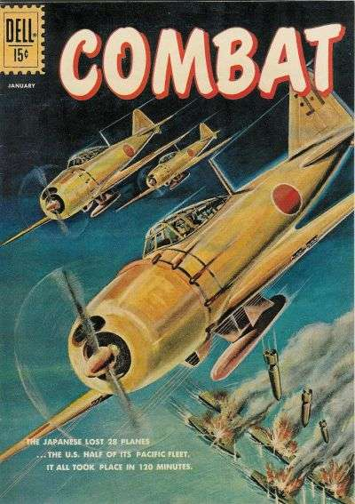 Combat #2 Comic Books - Covers, Scans, Photos  in Combat Comic Books - Covers, Scans, Gallery