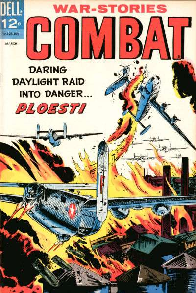 Combat #23 Comic Books - Covers, Scans, Photos  in Combat Comic Books - Covers, Scans, Gallery