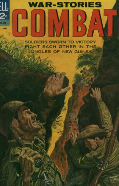 Combat #8 Comic Books - Covers, Scans, Photos  in Combat Comic Books - Covers, Scans, Gallery
