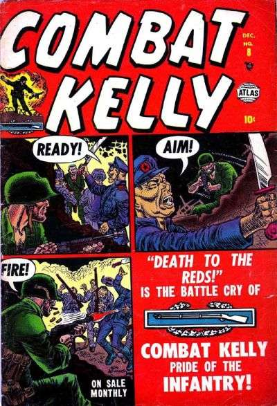 Combat Kelly #8 comic books for sale