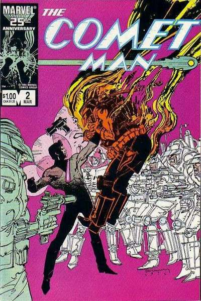 Comet Man #2 Comic Books - Covers, Scans, Photos  in Comet Man Comic Books - Covers, Scans, Gallery