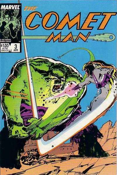 Comet Man #3 Comic Books - Covers, Scans, Photos  in Comet Man Comic Books - Covers, Scans, Gallery