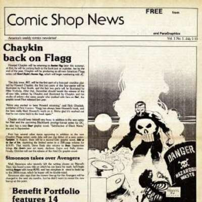 Comic Shop News comic books