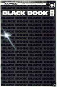 Comico Black Book comic books