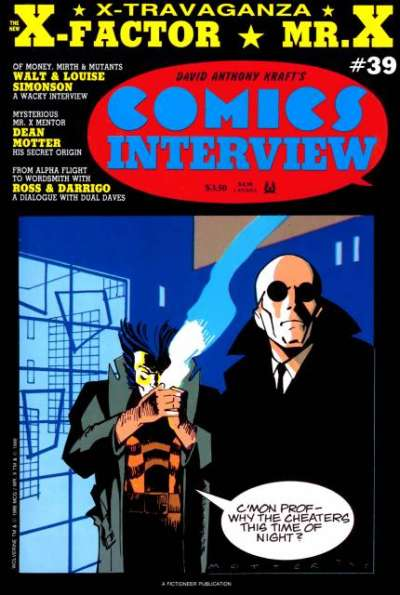 Comics Interview #39 Comic Books - Covers, Scans, Photos  in Comics Interview Comic Books - Covers, Scans, Gallery