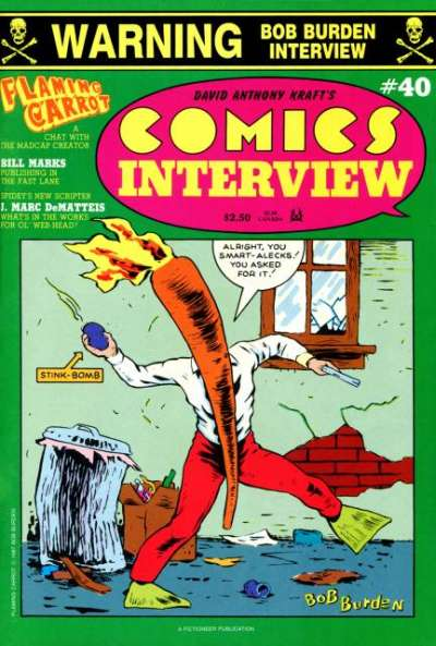 Comics Interview #40 Comic Books - Covers, Scans, Photos  in Comics Interview Comic Books - Covers, Scans, Gallery