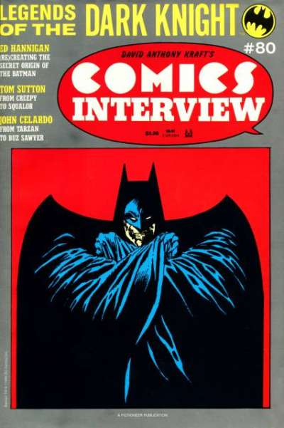 Comics Interview #80 Comic Books - Covers, Scans, Photos  in Comics Interview Comic Books - Covers, Scans, Gallery