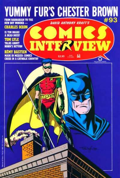 Comics Interview #93 Comic Books - Covers, Scans, Photos  in Comics Interview Comic Books - Covers, Scans, Gallery