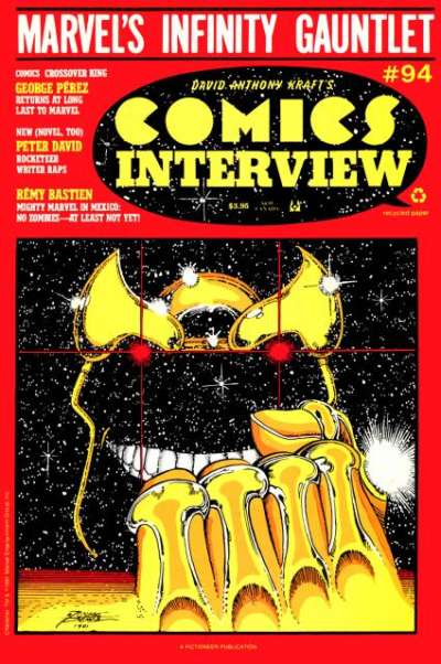 Comics Interview #94 Comic Books - Covers, Scans, Photos  in Comics Interview Comic Books - Covers, Scans, Gallery