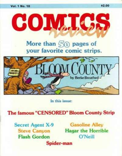 Comics Review #10 comic books for sale