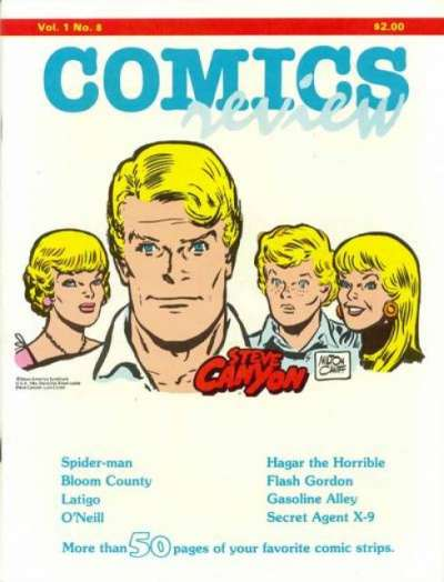 Comics Review #8 comic books for sale
