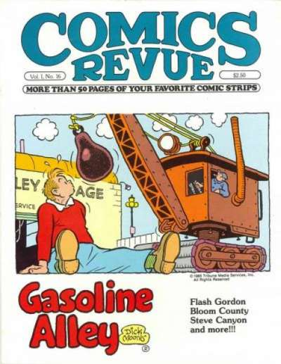 Comics Revue #16 comic books for sale
