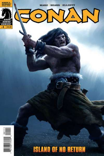 Conan: Island of No Return #1 comic books - cover scans photos Conan: Island of No Return #1 comic books - covers, picture gallery