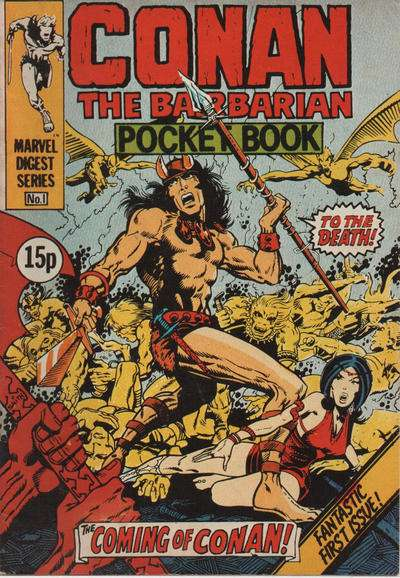 Conan Pocketbook comic books