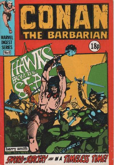 Conan Pocketbook #8 comic books for sale
