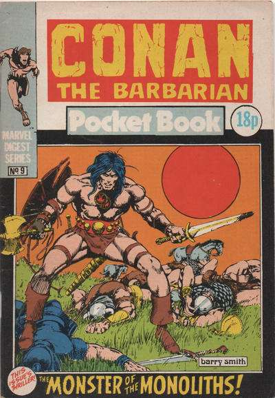 Conan Pocketbook #9 comic books for sale