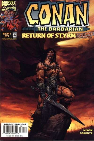 Conan: Return of Styrm Comic Books. Conan: Return of Styrm Comics.