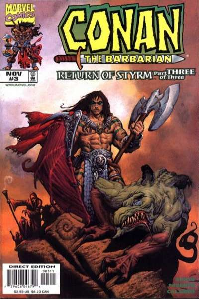 Conan: Return of Styrm #3 comic books for sale
