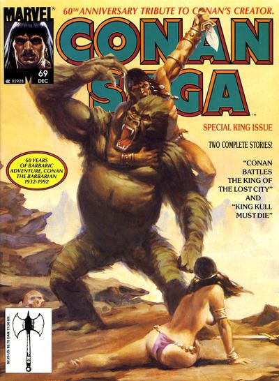 Conan Saga #69 comic books - cover scans photos Conan Saga #69 comic books - covers, picture gallery