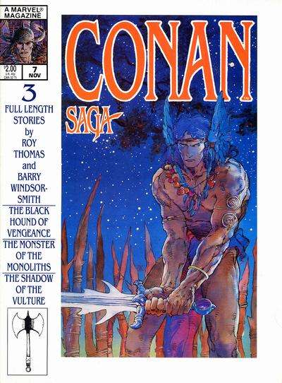 Conan Saga #7 comic books for sale