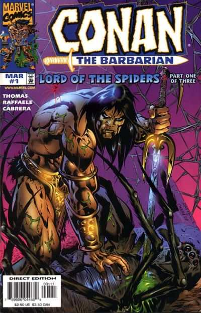 Conan: The Lord of the Spiders #1 comic books - cover scans photos Conan: The Lord of the Spiders #1 comic books - covers, picture gallery