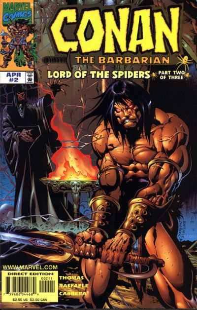 Conan: The Lord of the Spiders #2 comic books - cover scans photos Conan: The Lord of the Spiders #2 comic books - covers, picture gallery