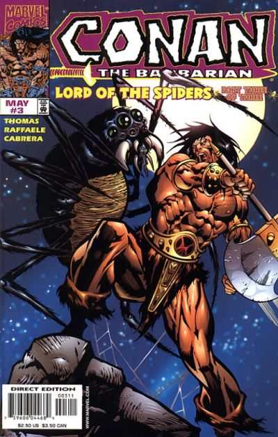 Conan: The Lord of the Spiders #3 Comic Books - Covers, Scans, Photos  in Conan: The Lord of the Spiders Comic Books - Covers, Scans, Gallery