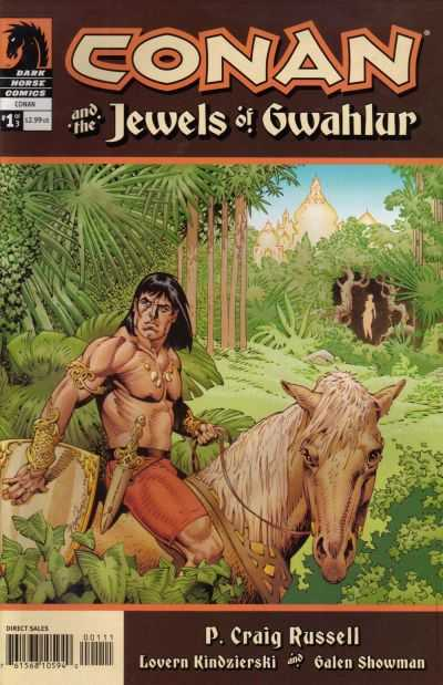 Conan and the Jewels of Gwahlur #1 comic books - cover scans photos Conan and the Jewels of Gwahlur #1 comic books - covers, picture gallery