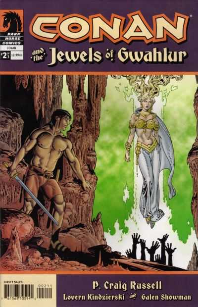 Conan and the Jewels of Gwahlur #2 Comic Books - Covers, Scans, Photos  in Conan and the Jewels of Gwahlur Comic Books - Covers, Scans, Gallery