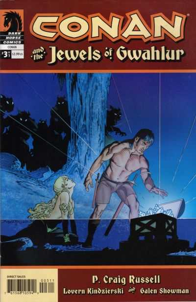 Conan and the Jewels of Gwahlur #3 comic books - cover scans photos Conan and the Jewels of Gwahlur #3 comic books - covers, picture gallery