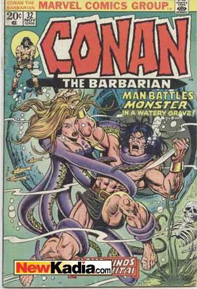 Conan the Barbarian #32 comic books - cover scans photos Conan the Barbarian #32 comic books - covers, picture gallery