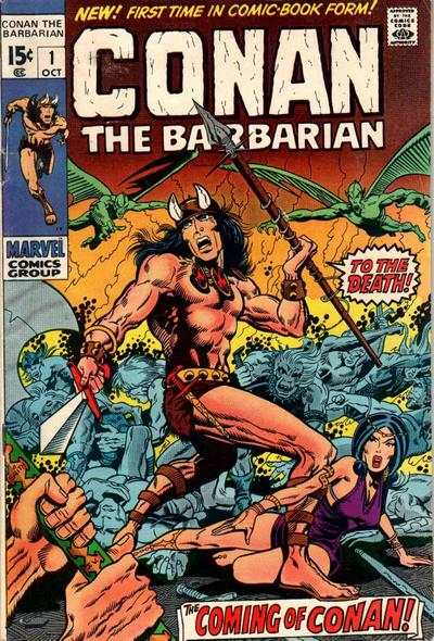 Conan Barbarian comic books