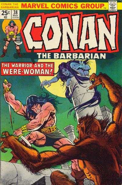 Conan the Barbarian #38 comic books - cover scans photos Conan the Barbarian #38 comic books - covers, picture gallery