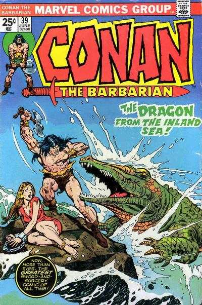 Conan the Barbarian #39 comic books - cover scans photos Conan the Barbarian #39 comic books - covers, picture gallery