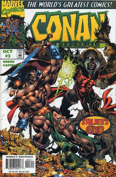 Conan the Barbarian #3 comic books for sale