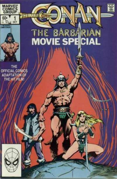 Conan the Barbarian Movie Special Comic Books. Conan the Barbarian Movie Special Comics.