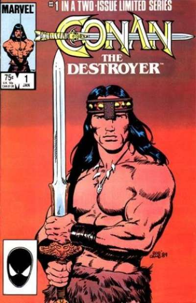 Conan the Destroyer Comic Books. Conan the Destroyer Comics.