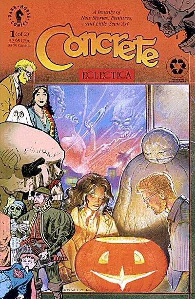 Concrete: Eclectica #1 comic books - cover scans photos Concrete: Eclectica #1 comic books - covers, picture gallery