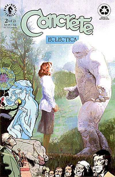 Concrete: Eclectica #2 comic books for sale