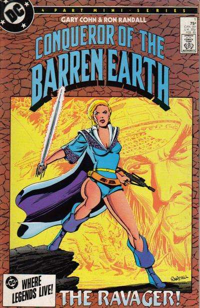 Conqueror of the Barren Earth #1 Comic Books - Covers, Scans, Photos  in Conqueror of the Barren Earth Comic Books - Covers, Scans, Gallery