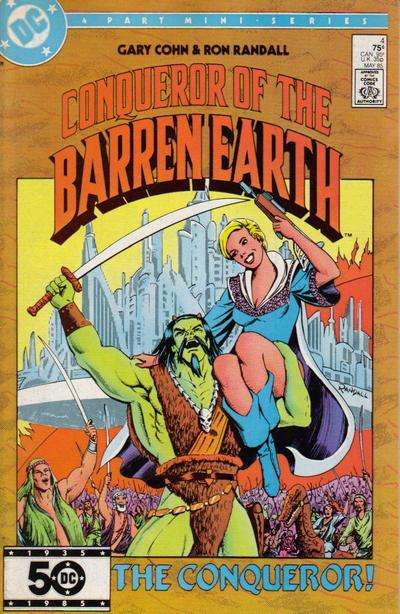 Conqueror of the Barren Earth #4 Comic Books - Covers, Scans, Photos  in Conqueror of the Barren Earth Comic Books - Covers, Scans, Gallery