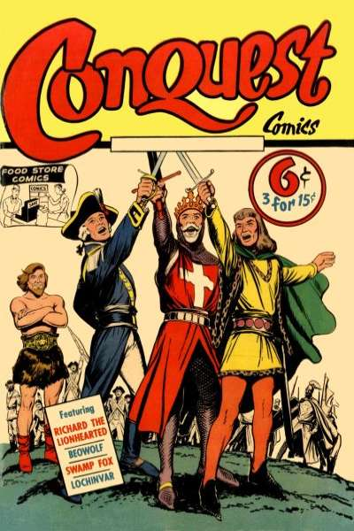 Conquest #1 comic books - cover scans photos Conquest #1 comic books - covers, picture gallery