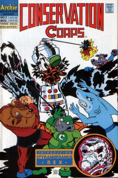 Conservation Corps #3 comic books for sale