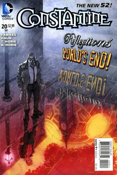Constantine #20 comic books for sale