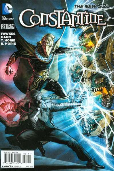 Constantine #21 comic books for sale