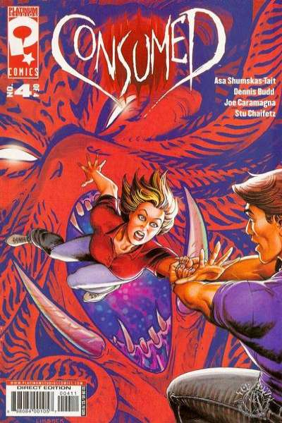Consumed #4 Comic Books - Covers, Scans, Photos  in Consumed Comic Books - Covers, Scans, Gallery