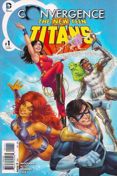 Convergence New Teen Titans # comic book complete sets Convergence New Teen Titans # comic books
